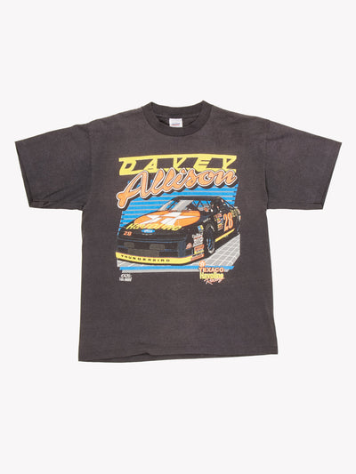 NASCAR 1991 T-Shirt Black / Red / Yellow Size Large