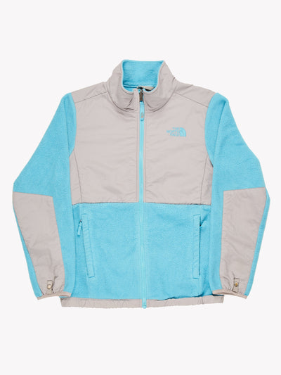 The North Face Fleece Blue / Grey Size Small