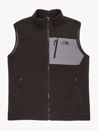 The North Face Fleece Gillet Black / Grey Size XL