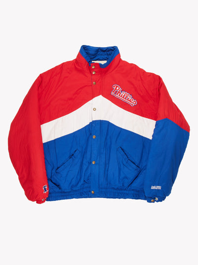 Phillies MLB Coat Red / Blue / White Size XXL
