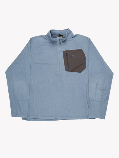 The North Face Fleece Blue/Grey Size XXL