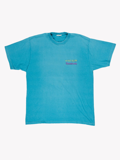 Reebok Windsurf T-Shirt Blue Size Large