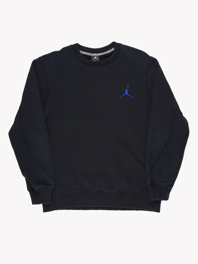 Nike Air Jordan Sweatshirt Black / Purple Size XL