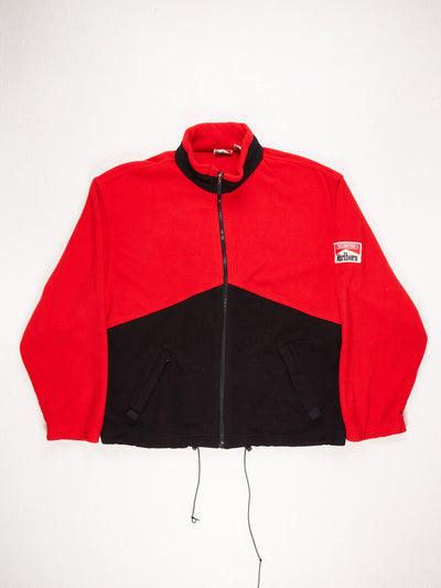 Marlboro Zip Up Fleece Red/Black Size XXL