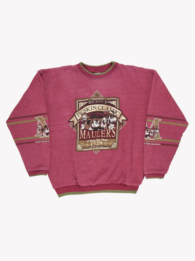The Disney Store Overdyed Sweatshirt Pink/Green Size XXL
