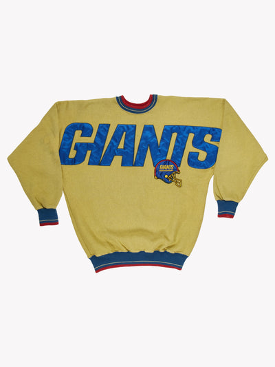 NY Giants NFL Overdyed Sweatshirt Green/Blue/Red Size XXL