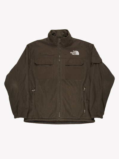 The North Face Fleece Jacket Khaki Size XL