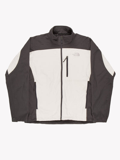 The North Face Jacket White/Grey Size Medium