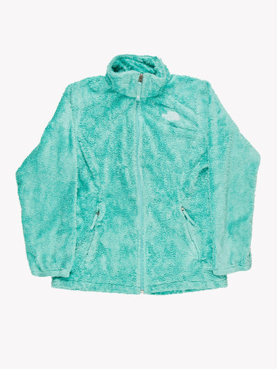 The North Face Fleece Jacket Green Size Small