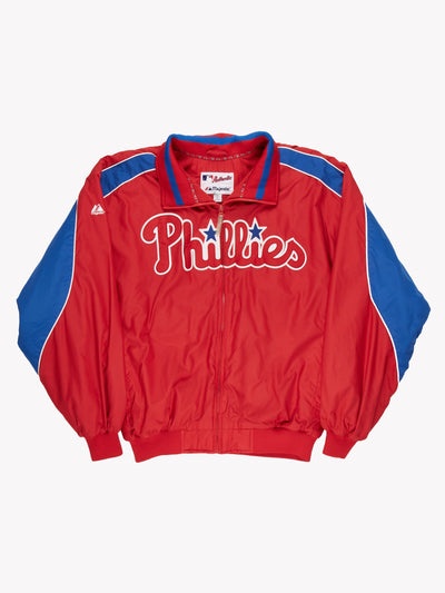 Phillies MLB Jacket Red/Blue Size XL