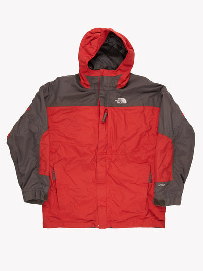 The North Face Jacket Red/Grey Size Large