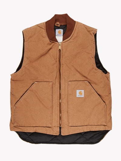 Carhartt Gilet Brown Size Large