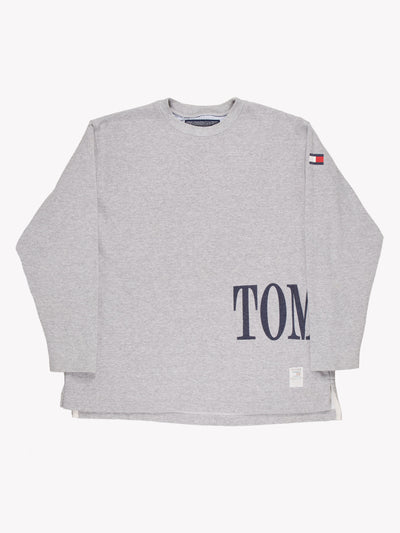 Tommy Hilfiger Sweatshirt Grey/Blue Size Large
