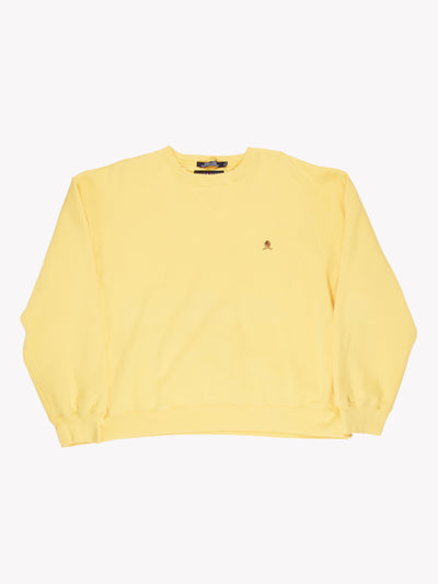 Tommy Hilfiger Sweatshirt Yellow Size XL