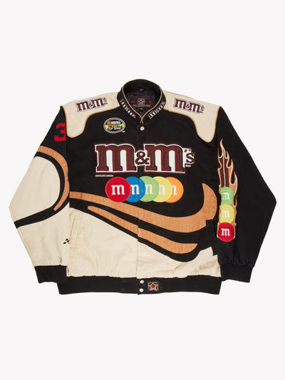 Nascar M&Ms Jacket Black/Brown Size XXL