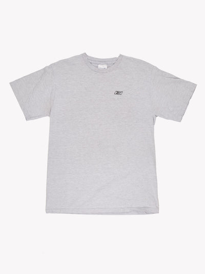 Reebok T-Shirt Grey Size Medium
