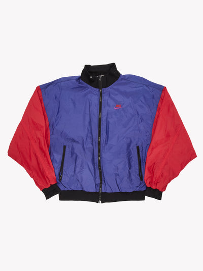 Nike Jacket Purple/Red Size Large