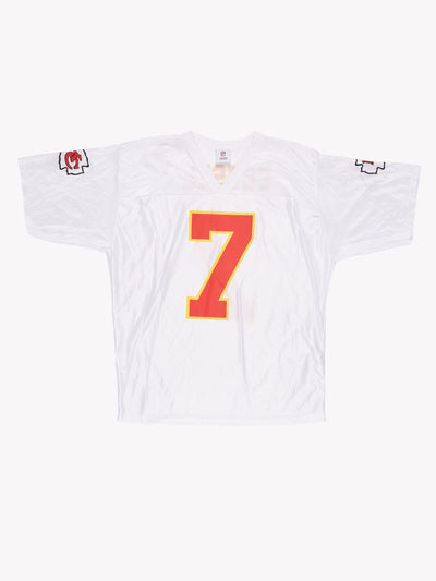 Kansas City Chiefs NFL 00's Cassel Jersey White / Red / Yellow Size XXL