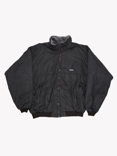 Patagonia Fleece Lined Bomber Black Size XL