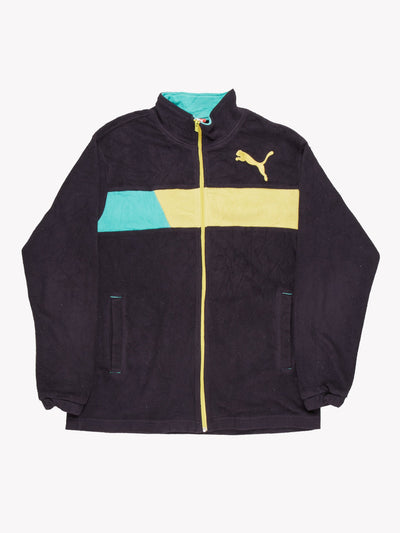 Puma Fleece Navy Blue Size Small