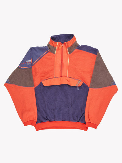 Adidas Adventure Fleece Orange/Purple/Grey Size Large