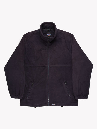 Dickies Zip Up Fleece Navy Size XL