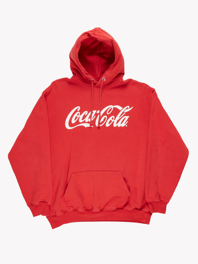 Coca Cola Hoodie Red/White Size XS