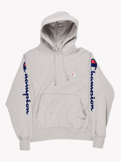 Champion Hoodie Grey Size Small