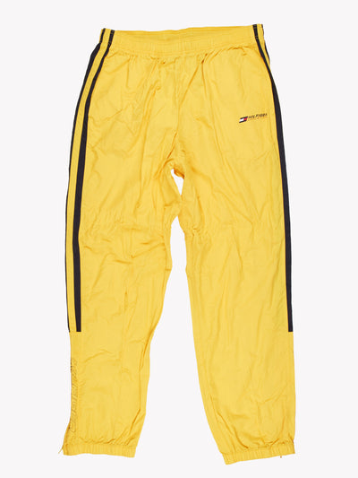 Tommy Hilfiger Tracksuit Bottoms Yellow/Navy Size XXL