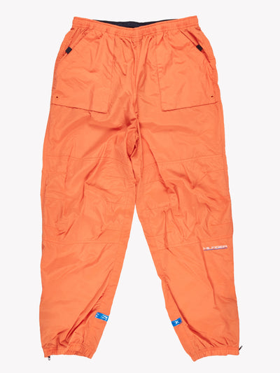 Tommy Hilfiger Tracksuit Bottoms Orange/Navy Size Large
