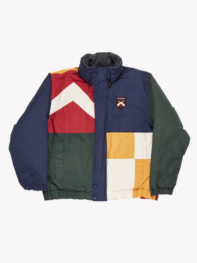 Tommy Hilfiger Jacket Navy/Red/White/Green Size Medium