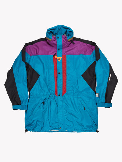 Helly Hansen Coat Blue/Purple/Black Size XXL