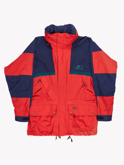Helly Hansen Coat Red/Blue/Green Size Large