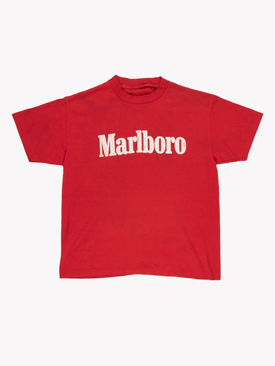 Marlboro T-Shirt Red/White Size Small