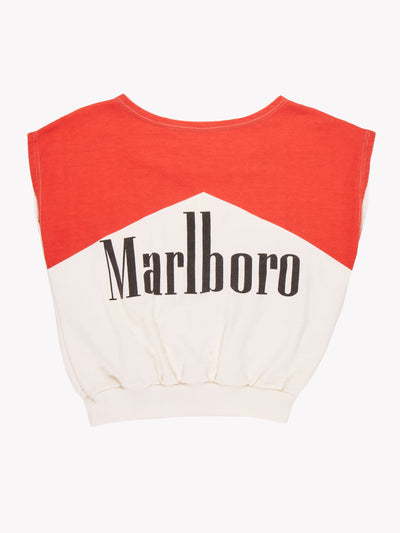 Marlboro T-Shirt Red/White Size