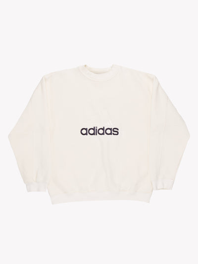 Adidas Sweatshirt Cream Size Medium