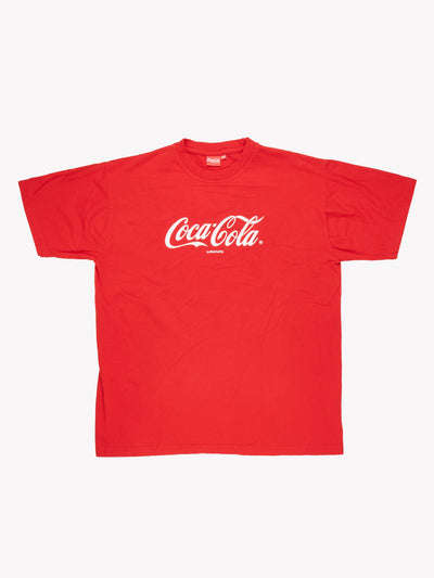 Coca-Cola T-Shirt Red/White Size XXL