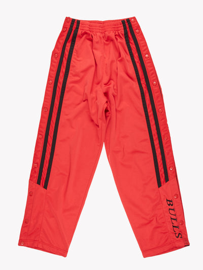 NBA Track Pants Red/Black Size Large