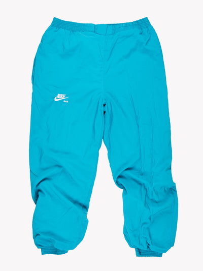 Nike Tracksuit Pants Blue Size Large