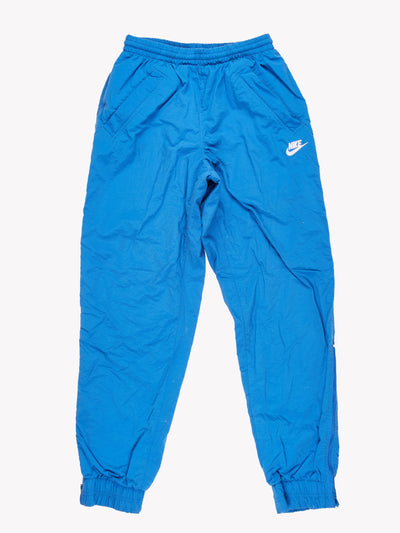 Nike Tracksuit Pants Blue Size Small