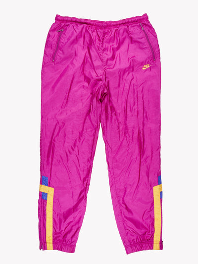 Nike Tracksuit Pants Purple Size Large