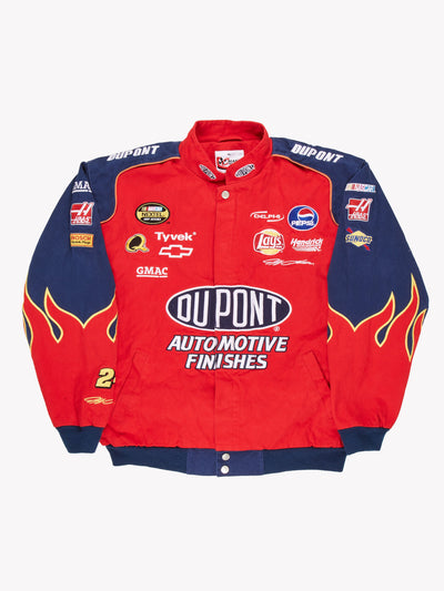 Nascar Du Point Jacket Red/Blue Size XL