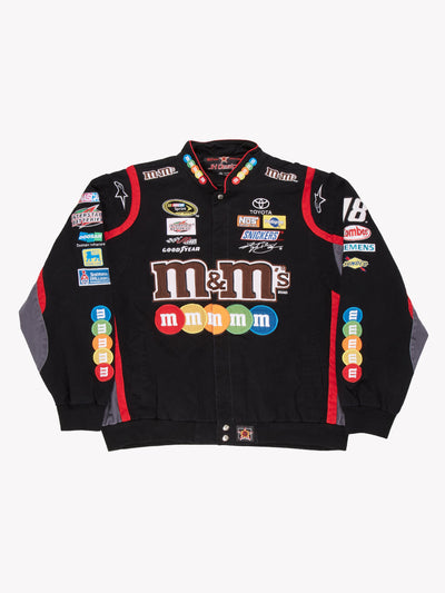 Nascar M&Ms Jacket Black/Red Size XXL