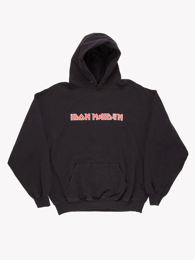 Iron Maiden Hoodie Black/Red Size XL