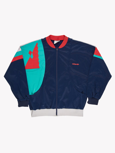 Adidas Jacket Navy/Green/Red Size XXL