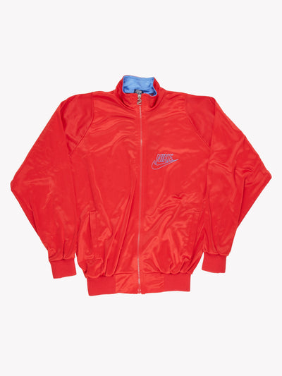 Nike Track Jacket Red/Blue Size Large