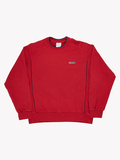 Adidas Sweatshirt Red Size Large