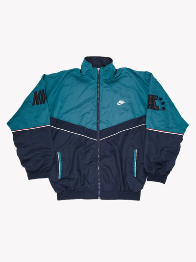 Nike Jacket Green/Navy Size XXXL