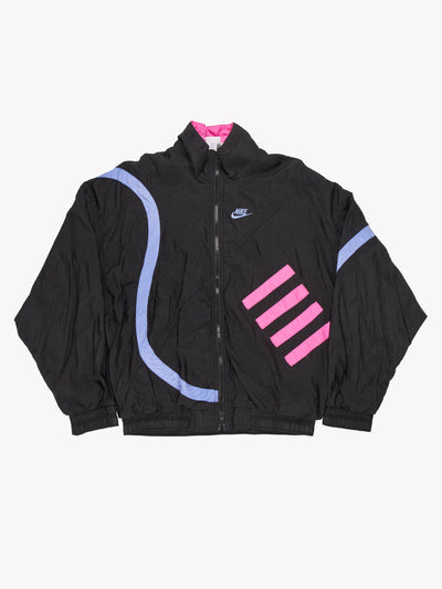 Nike Jacket Black/Purple/Pink Size Large