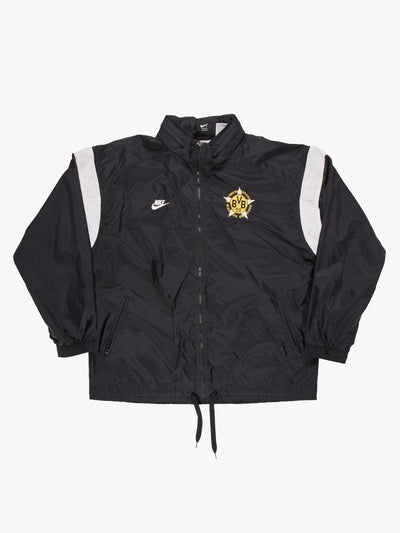 Nike Jacket Black/White Size Medium
